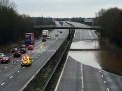 Storm Katie Causes Easter Travel Chaos In UK