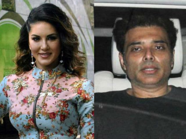 Sunny Leone, Uday Chopra in 'Plank Off' Competition