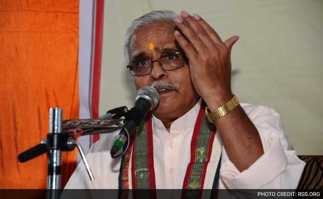 Don't Feel Hindu Leaders Are Unsafe In Country: RSS Leader