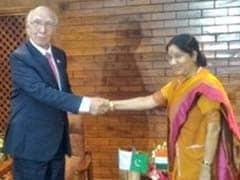 Sushma Swaraj Leaves For India After 3-Day SAARC Meeting In Nepal