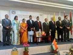 Sushma Swaraj Meets Nepal Prime Minister Ahead Of SAARC Summit