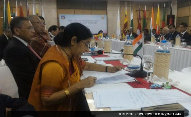 SAARC Needs To Unleash Collective Strength, Says Sushma Swaraj