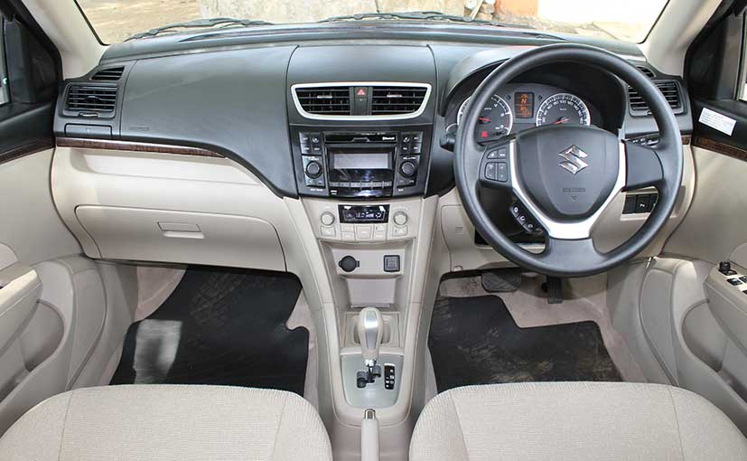 Swift Dzire Cabin