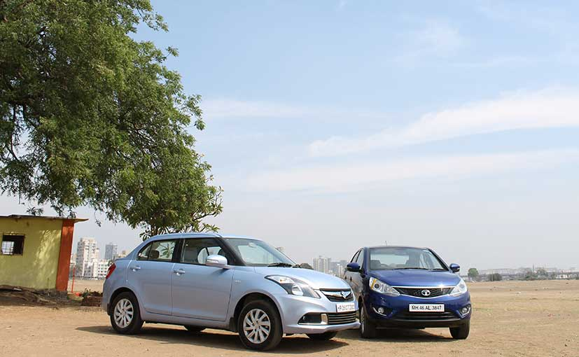 Swift Dzire vs Tata Zest