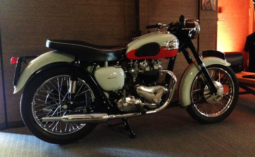 The original 1959 Triumph Bonneville T120