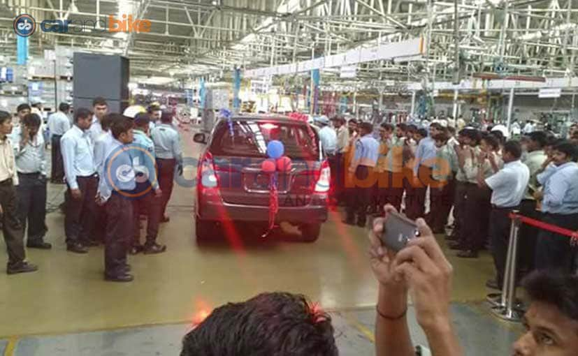 Toyota India Ends Production of First-Generation Innova