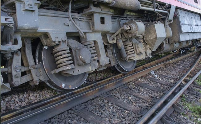 Concrete Blocks Placed On Railway Tracks; Accident Averted