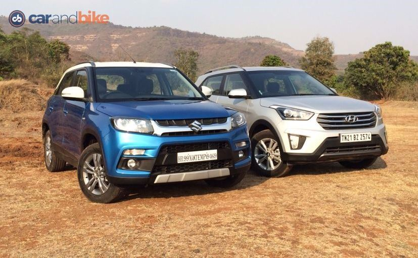 Comparison Review Maruti Suzuki Vitara Brezza Vs Ford