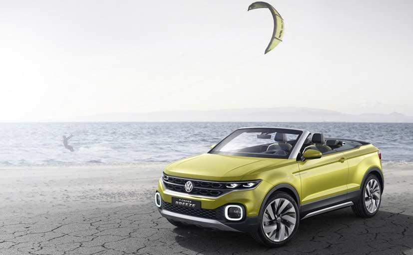2016 Geneva Motor Show: Volkswagen Showcases T-Cross Concept