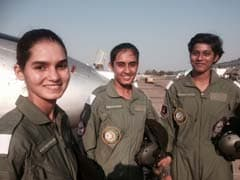 Training Over, India's First 3 Women Fighter Pilots Fly MiGs And Hawks