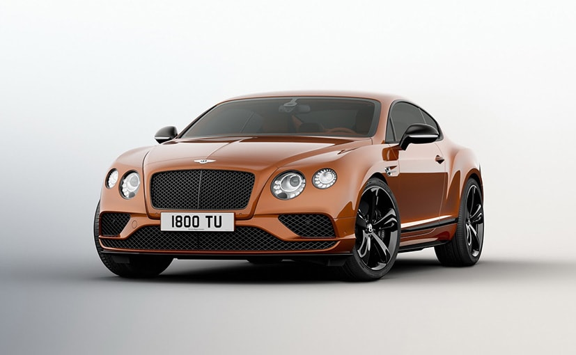 2016 Bentley Continental GT Speed Unveiled; Gets More Power