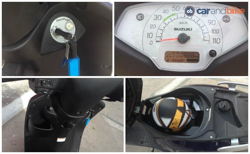 2016 Suzuki Access 125 - Handy Features