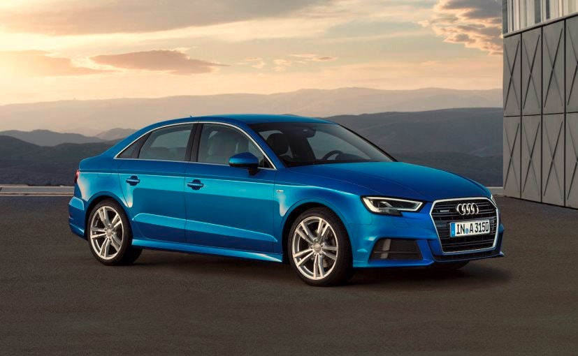 india bound 2017 audi a3 facelift sedan revealed ndtv carandbike. Black Bedroom Furniture Sets. Home Design Ideas