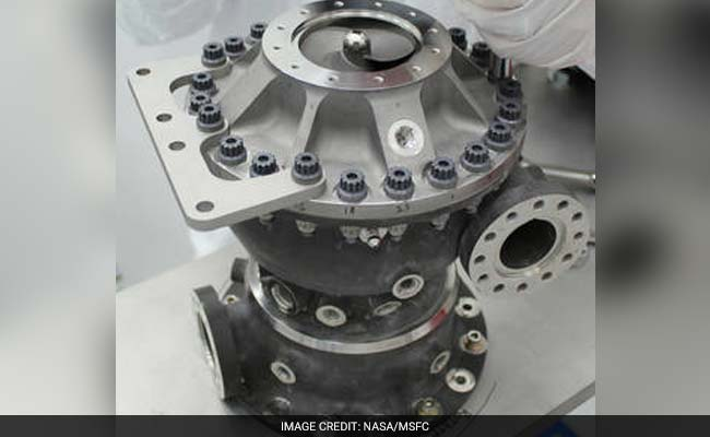 3D-Printed Rocket Engine Turbo Pump To Send Humans To Mars