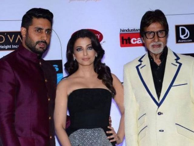 Amitabh Bachchan Wishes Abhishek, Aishwarya on 9th Wedding Anniversary