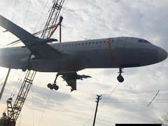 In Pics: Hyderabad Watches A Plane Fall Onto A Building While Being Moved