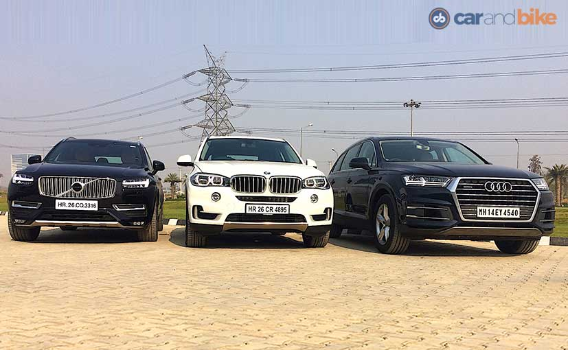 Bmw X5 2017 Vs Audi Q7 2017 New Cars Gallery