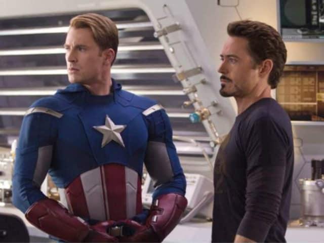 For Robert Downey Jr, Chris Evans is 'The Right Guy' For Captain America