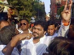बंगाल चुनाव : केंद्रीय मंत्री बाबुल सुप्रियो के साथ तृणमूल समर्थकों ने धक्कामुक्की की