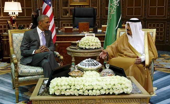 Barack Obama Meets Saudi King With Iran On Agenda
