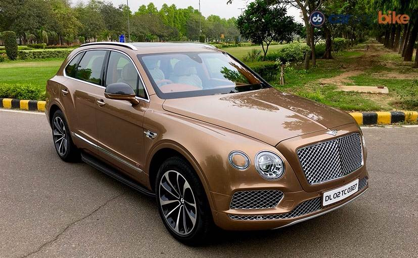 Bentley Bentayga India Review Ndtv Carandbike