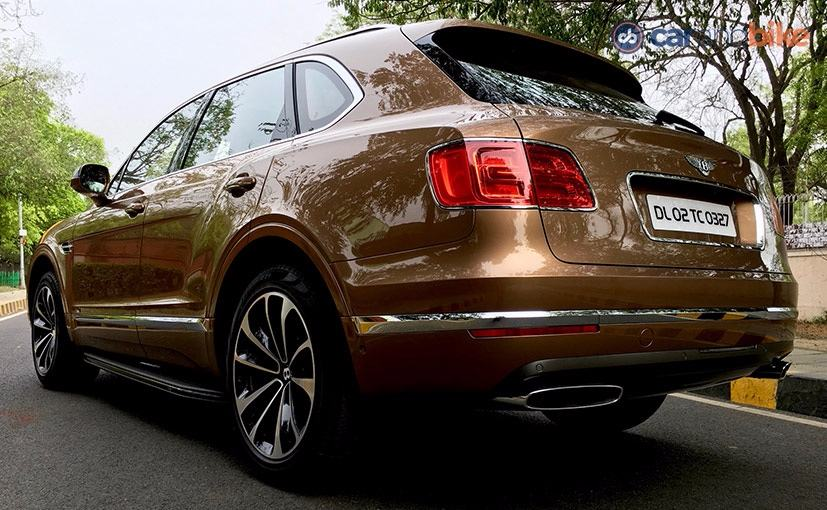 Bentley Bentayga Rear Design