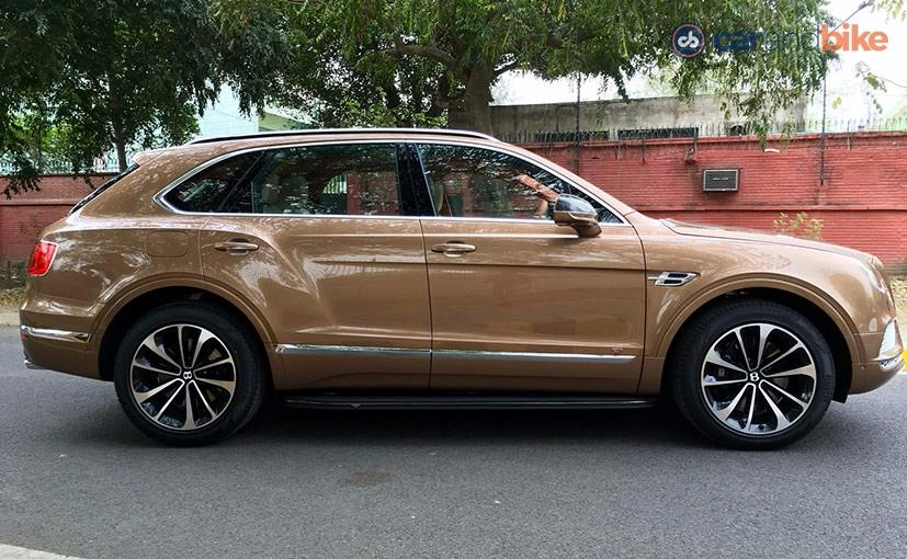 Bentley Bentayga Launched in India; Prices Starts at Rs. 3.85 Crore ...