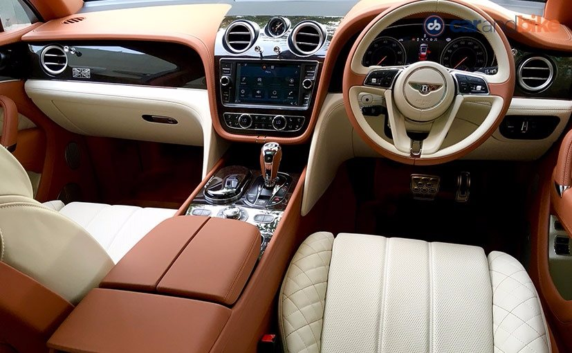 Bentley Bentayga's Cabin