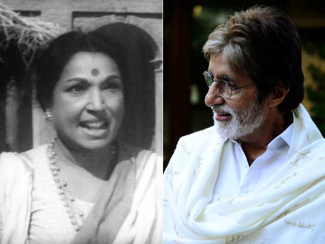 Lalita Pawar Was Dynamic and Versatile, Says Amitabh Bachchan