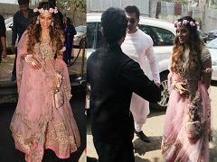 बिपाशा बसु और करण सिंह की शादी की रस्में शुरू, देखिए मेहंदी सेरेमनी की तस्वीरें