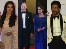 Aishwarya, SRK Arrive in Style For Will And Kate's Bollywood Gala
