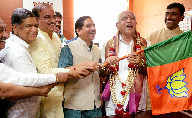 BS Yeddyurappa Will Win Karnataka Trust Vote: Yashwant Sinha's Jab At BJP