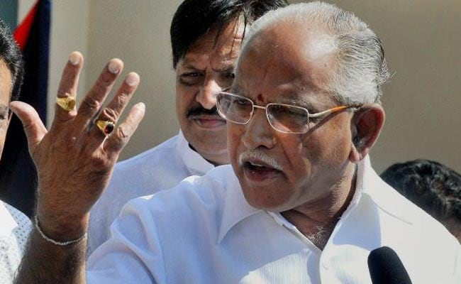 '100 Per Cent Confident Of Proving Majority': BS Yeddyurappa On Floor Test