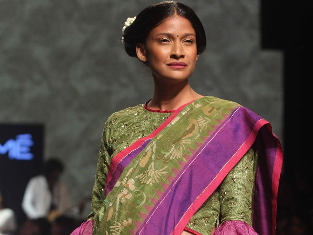 Carol Gracias Breaks Convention, Walks the Ramp With Baby Bump