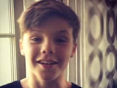 Spice up Your Life With This Video of Posh's Son Cruz Beckham Singing