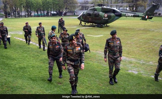 After Kashmir, Army Chief Dalbir Singh Reviews Security On China Border
