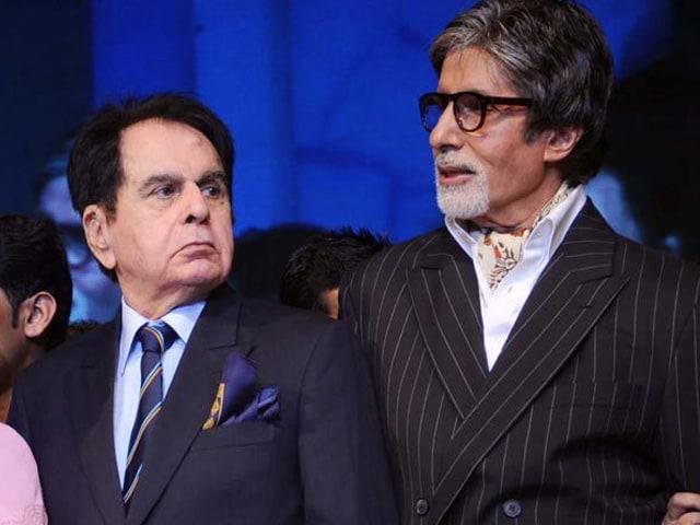 Amitabh Bachchan Says Dilip Kumar is 'Fine'