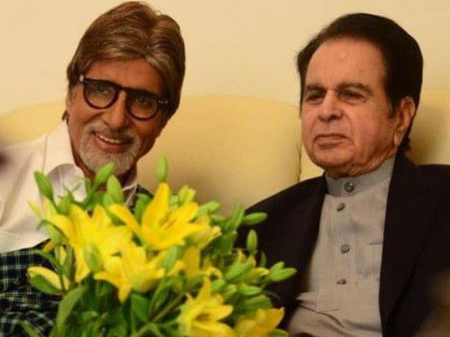 Dilip Kumar's Co-Stars Amitabh Bachchan, Rishi Kapoor Post Pics of Him