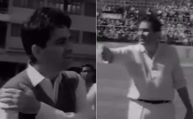 Raj Kapoor vs Dilip Kumar in Special Cricket Match. Howzat?