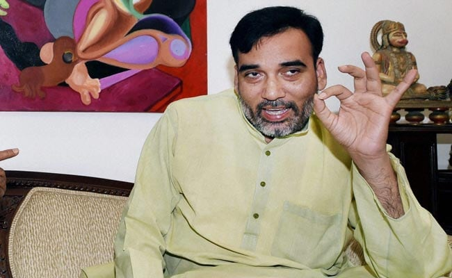Case Filed Against AAP's Gopal Rai For Violating Model Code Of Conduct