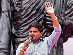 Hardik Patel Arrives In Udaipur, To Leave For Mandsaur Today