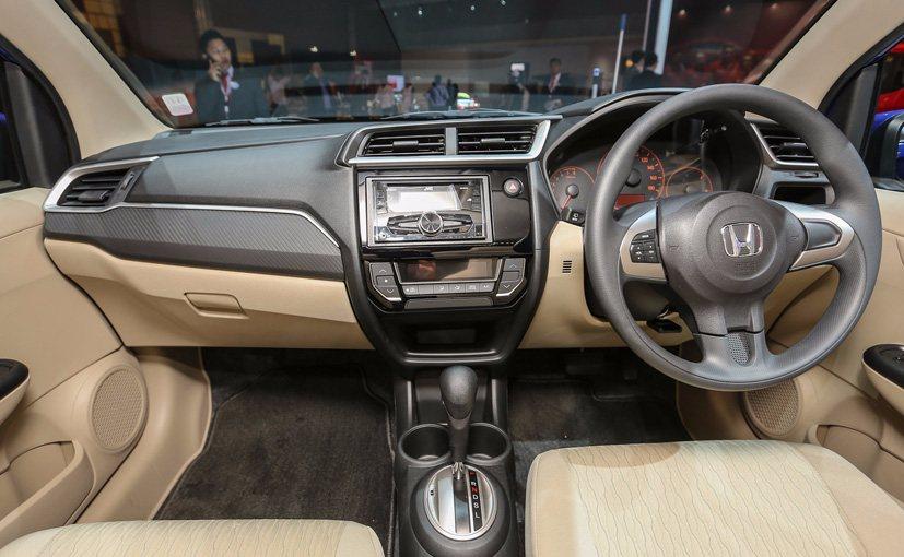Honda Brio Facelift Dashboard