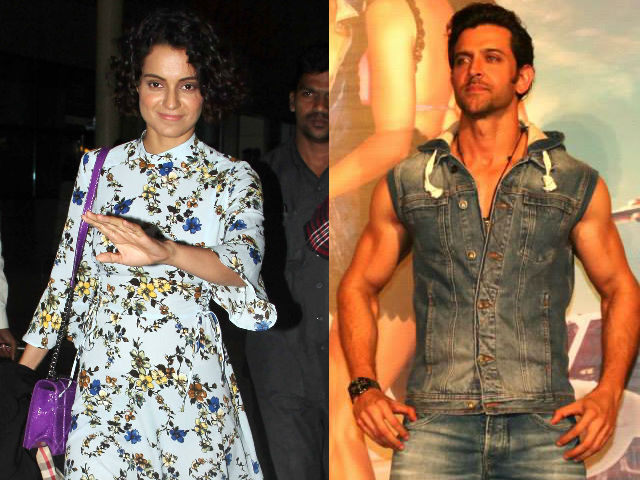 Leaked! When Hrithik Roshan and Kangana Ranaut Got 'Cosy' at a Party