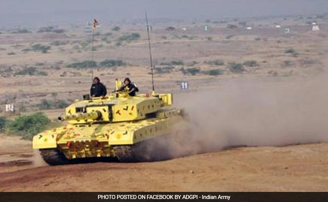Indian Army Conducts Battle Exercise 'Shatrujeet' In Rajasthan