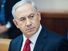 """Don't Test Israel"", Benjamin Netanyahu Tells Iran, Brandishing Drone Piece"
