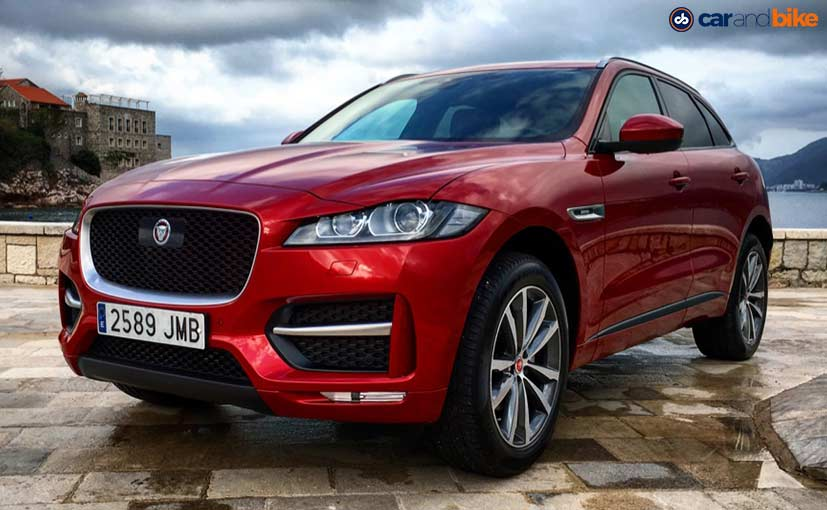 Jaguar F-Pace Front - Red