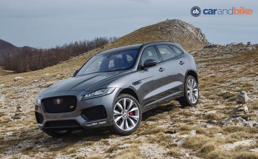 jaguar f pace officially arrives in india prices start at lakh ndtv carandbike. Black Bedroom Furniture Sets. Home Design Ideas