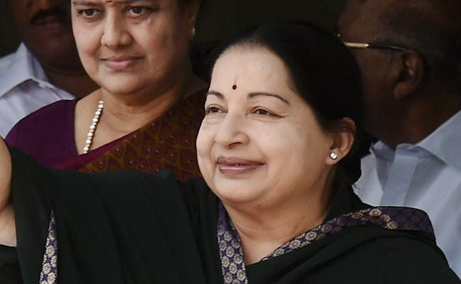 Jayalalithaa's Assets Worth Rs 113 Crore - And That's A Decline