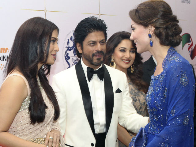 Aishwarya Sparkled at Party For Will and Kate. Where Was Abhishek?