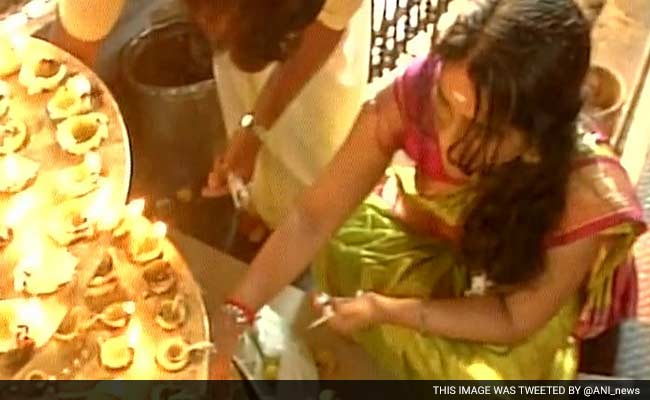 Kerala Celebrates 'Vishu', Temples Are Crowded